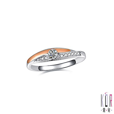 K OR蔻兒 愛的香氛鑽石/白鋼女戒指