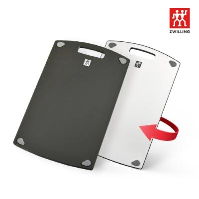 [4折加價購L砧板] 德國雙人 ZWILLING 抗菌塑膠砧板 L - 37x27x1cm