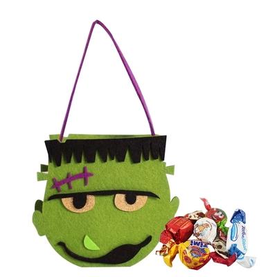 Diva Life 怪物造型絨布袋 (科學怪人)-巧克力糖果