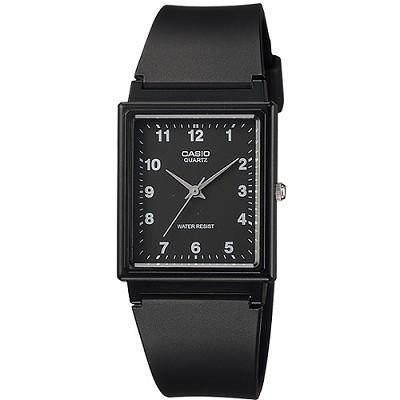 CASIO 簡約時尚風格基本搭配款腕錶-黑(MQ-27-1B)/24mm