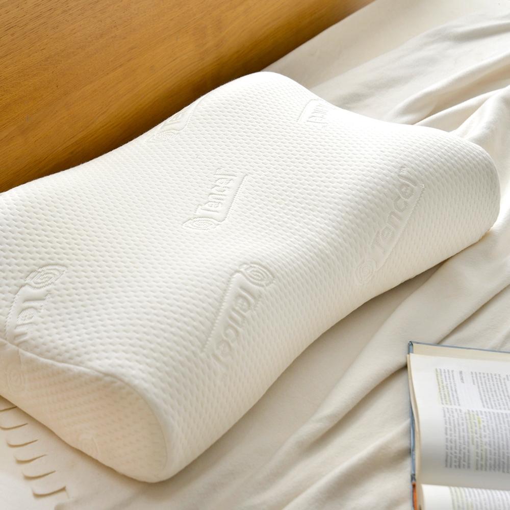 法國Casa Belle 天絲涼感抗菌人體工學記憶枕