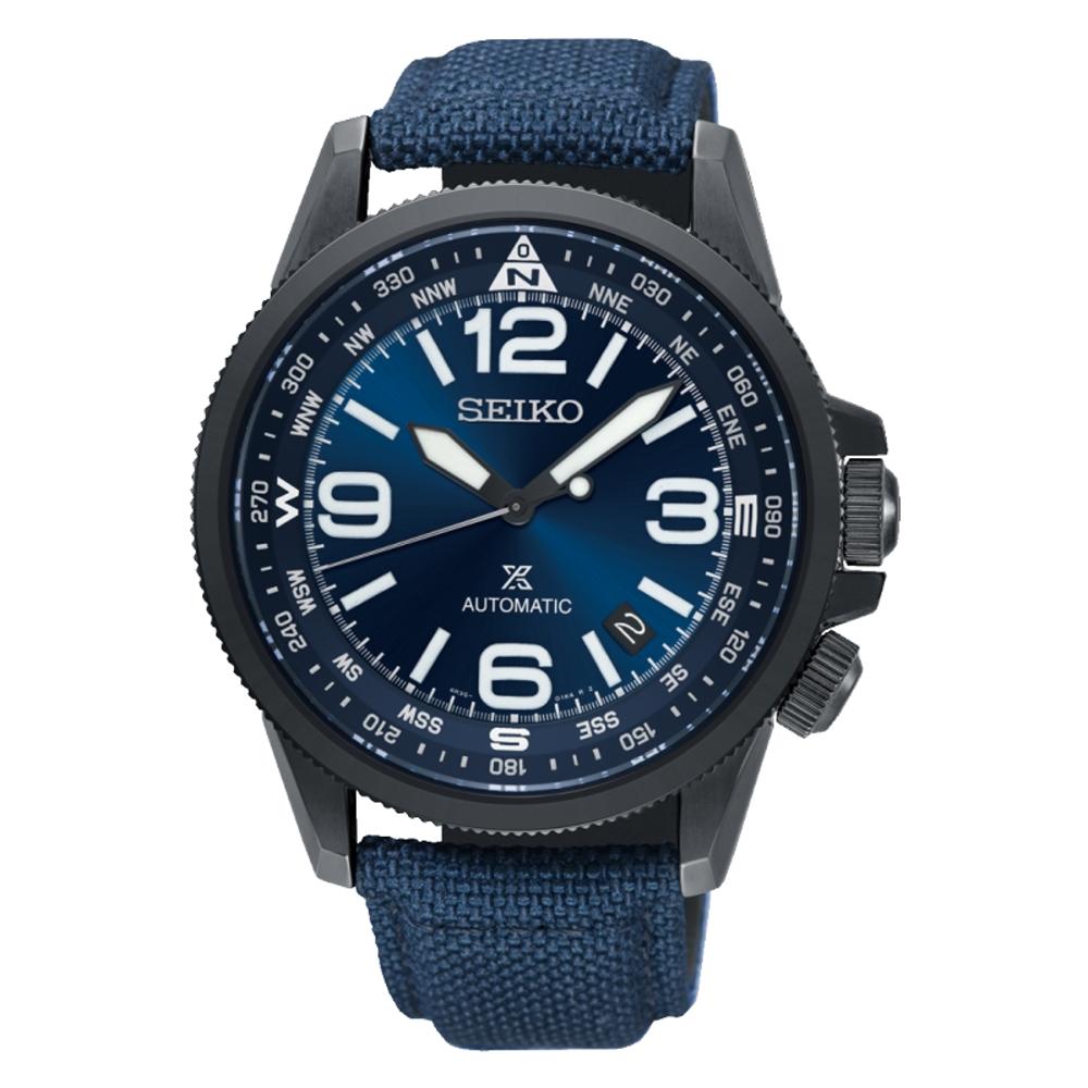 SEIKO精工/PROSPEX 軍事風格時尚機械錶-4R35-02N0B(SRPC31J1