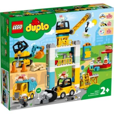 樂高LEGO Duplo幼兒系列 - LT10933 起重機 & 建設工程