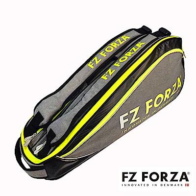 FZ FORZA Harrison 專業羽球裝備袋 6支裝 黃綠/灰