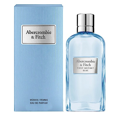 *Abercrombie&Fitch A&F 湛藍女性淡香精 50ml