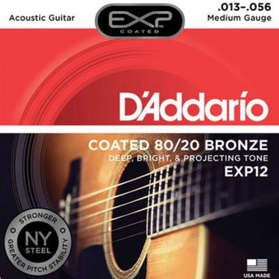 DAddario DDXF-EXP12 黃銅民謠木吉他套弦