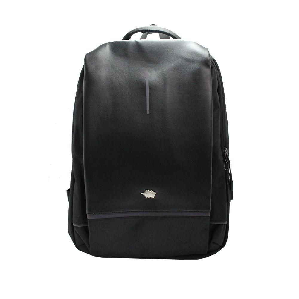 DRAKA 達卡 - 品味格調USB充電後背包-黑