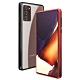 三星 Samsung Note 20 Ultra 金屬 透明 磁吸單面玻璃殼 手機殼 保護殼 保護套-紅色款-Note20 Ultra-紅色*1 product thumbnail 1