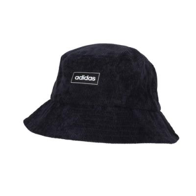 ADIDAS 漁夫帽-帽子 遮陽 防曬 愛迪達 GE6139 深藍黑