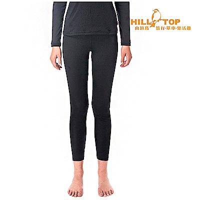 【hilltop山頂鳥】女款Thermolite吸濕衛生褲H57F46黑美人