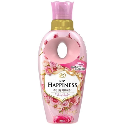 日本版【P&G】HAPPINESS 長效消柔軟精古典玫瑰花香560ml