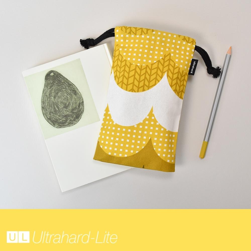 Ultrahard-Lite 萬用束口袋 - 波浪(奶油黃)