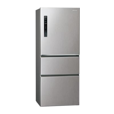 Panasonic國際牌500L三門變頻冰箱 NR-C500HV-L 絲紋灰