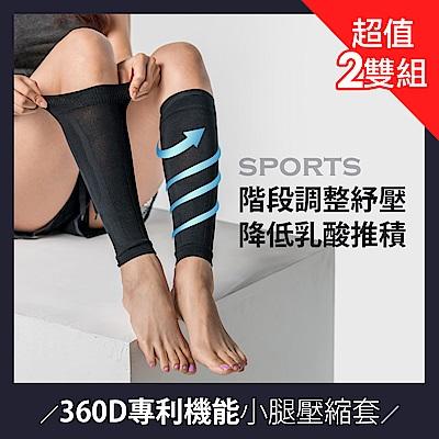 360D專利機能壓縮小腿套(2雙組)BeautyFocus