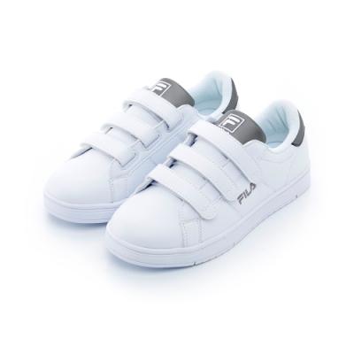 FILA 中性潮流復古鞋-銀色 4-C603T-800