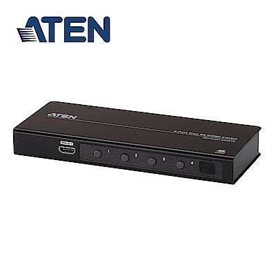 ATEN 4 埠 True 4K HDMI 影音切換器 (VS481C)