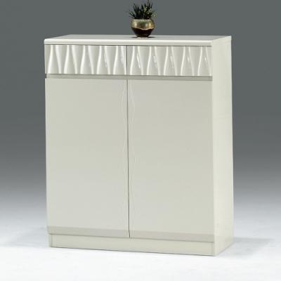 AS-亞當白色鞋櫃-77.5x32x101cm