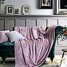 Betrise夜櫻  秋冬新品  延禧莫藍迪色系暖柔金貂絨雙面毯