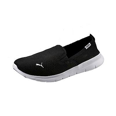PUMA Flex Essential Slip On 男女休閒鞋-黑色