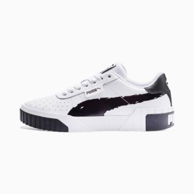 PUMA Cali Brushed Wns 女 休閒鞋-白-37389601