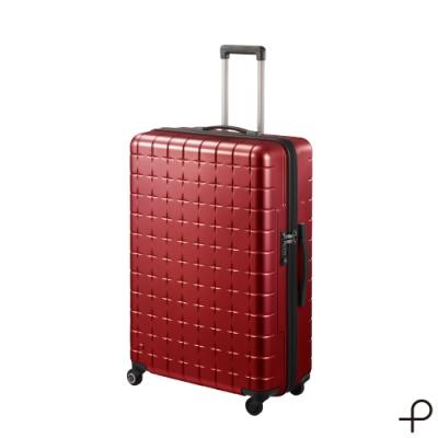 【日本製造PROTECA行李箱】開輝系列28吋-360°自由取物行李箱(紅色)