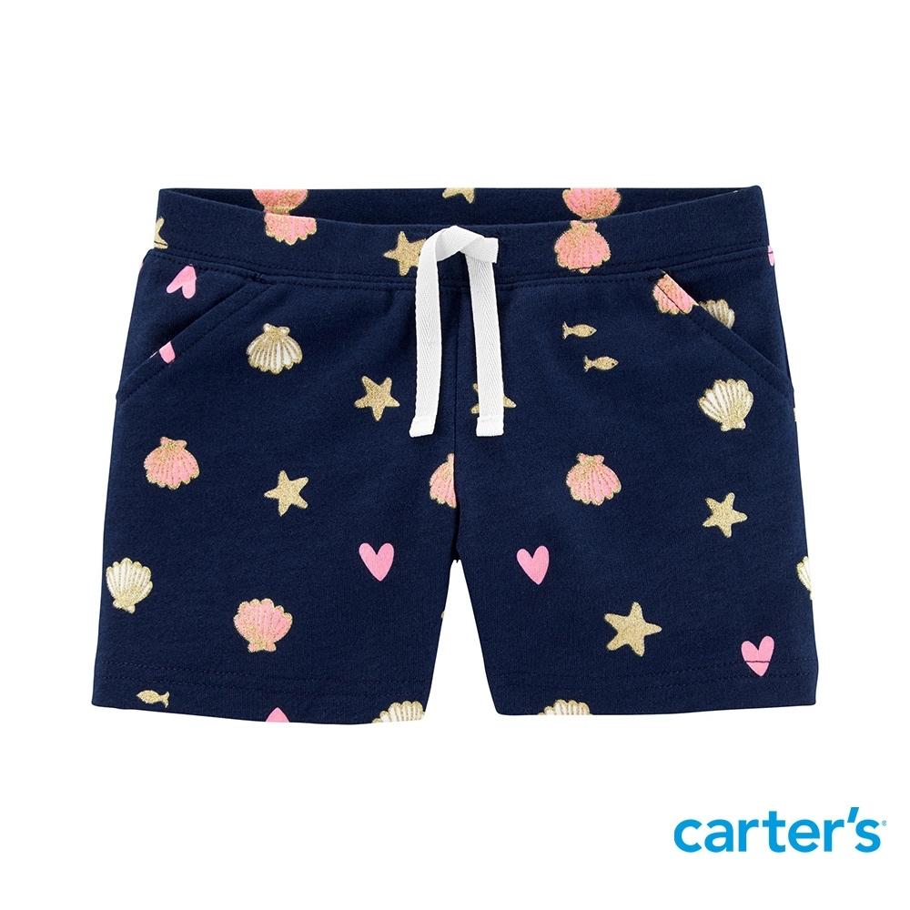 【Carter's】海星貝殼愛心短褲(2T-5T) (台灣總代理)