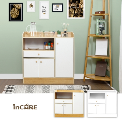 【Incare】簡約時尚櫥櫃收納櫃 (80X30X80cm)