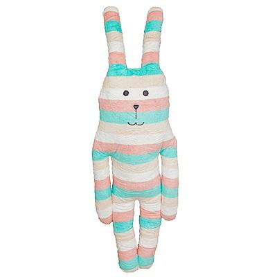 【買就送】CRAFTHOLIC宇宙人 旅行溜搭兔大抱枕(贈吊飾)