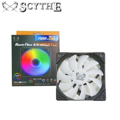 Scythe 鎌刀  幻風丸1800 PWM ARGB 12cm 風扇 機殼散熱
