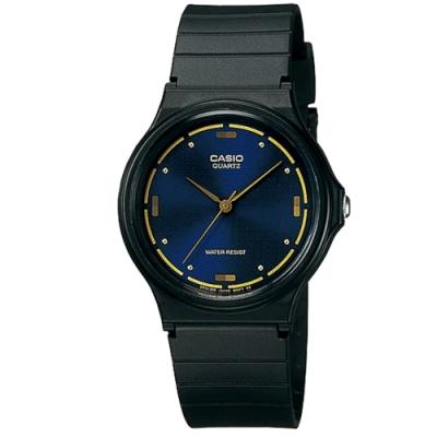 CASIO 基本款簡約男性指針腕錶-藍(MQ-76-2A)/38.8mm