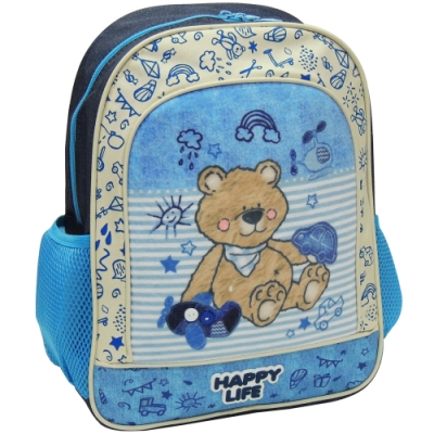 【MAXPERO】可愛小熊14吋後背書包 / 兒童背包 / 後背包