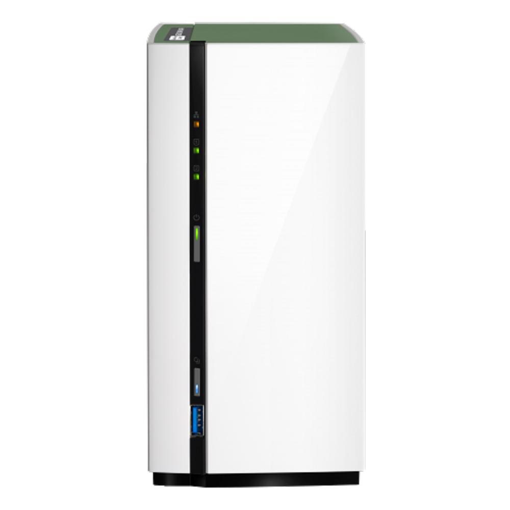 (無卡分期-12期)【促銷組合】QNAP TS-228A 網路儲存伺服器+WD 4TB*2