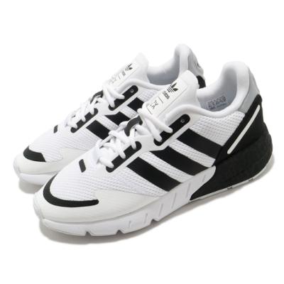 adidas 休閒鞋 ZX 1K Boost 男女鞋 愛迪達 基本款 情侶鞋穿搭 緩震 白 黑 FX6510