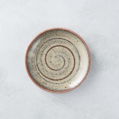 有種創意 日本美濃燒 - 點心小盤 - 乳白 15cm
