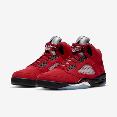 Nike 籃球鞋 Air Jordan 5代 男鞋 Retro Raging Bull 公牛 喬丹 麂皮 AJ5 DD0587600