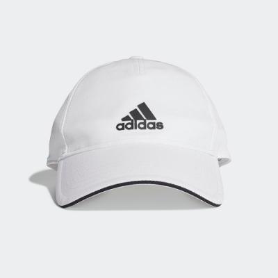 ADIDAS 休閒 運動 老帽 棒球帽 白 FK0878 AEROREADY BASEBALL CAP
