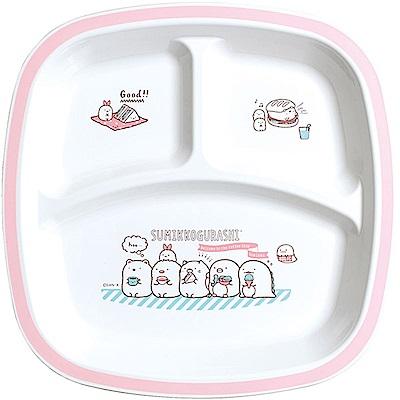 角落公仔歡樂時光系列微波餐盤。粉  San-X