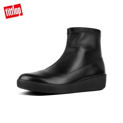 FitFlop  OTTIE SOCK ANKLE BOOTIES 黑色