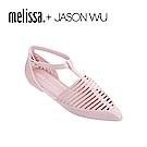 Melissa + JASON WU 尖頭平底鞋-粉色