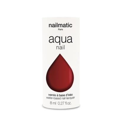 法國 Nailmatic 水系列經典指甲油 - Thelma 石榴紅 - 8ml