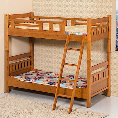 Homelike 杉浦3尺雙層床架(不含床墊)-200x95x169cm