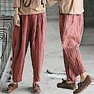休閒褲-訂製特殊長褲舊紅色-K8831-設計所在