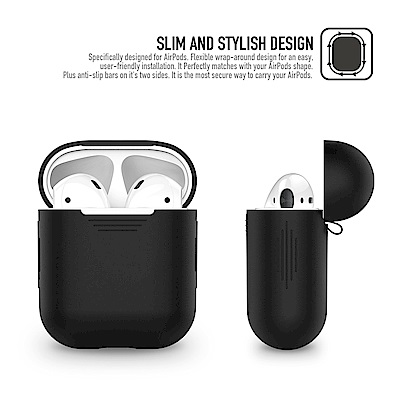 AHAStyle PodFit - AirPods 專用矽膠保護套