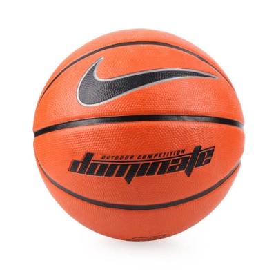 NIKE DOMINATE 6號籃球 橘黑