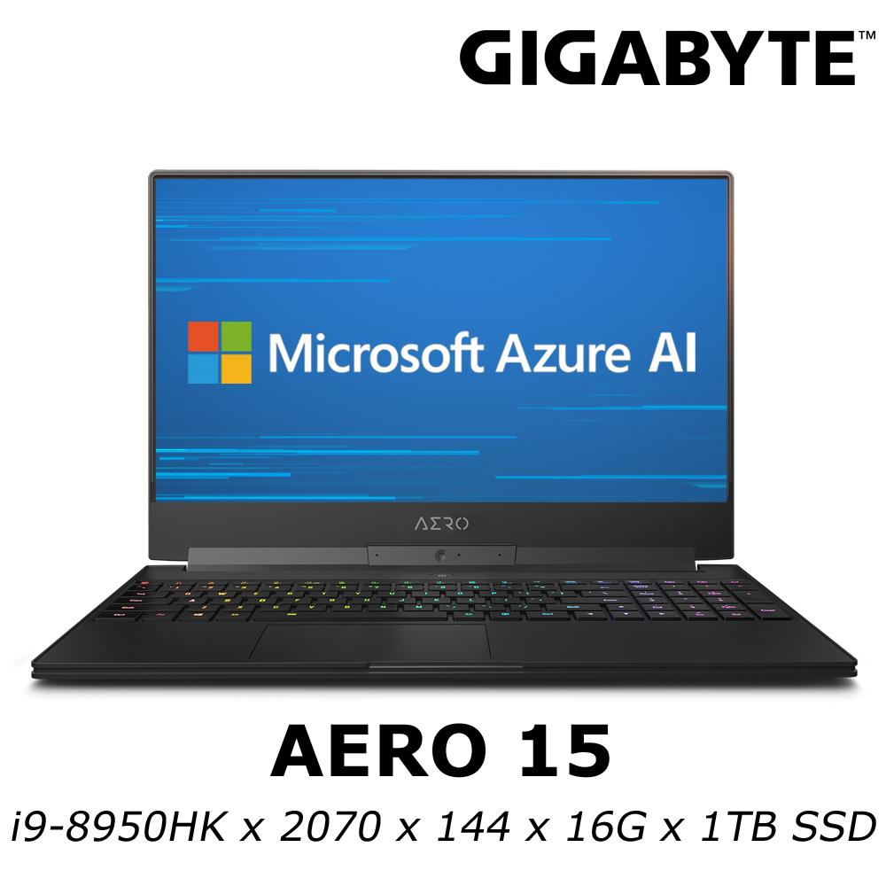 GIGABYTE AERO 15 電競筆電 i9-8950HK/RTX2070 8G