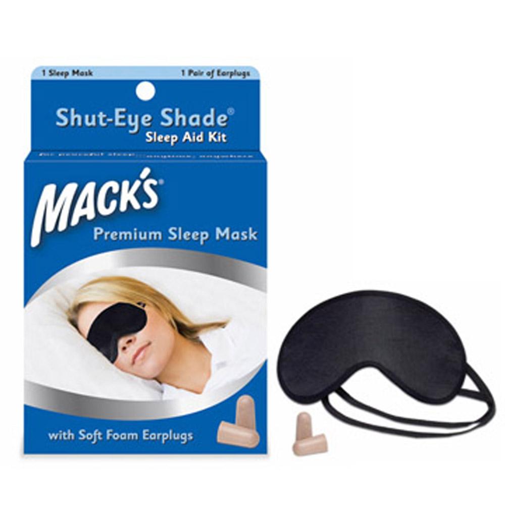 美國 Mack s 舒適不漏光 眼罩 + 泡棉耳塞