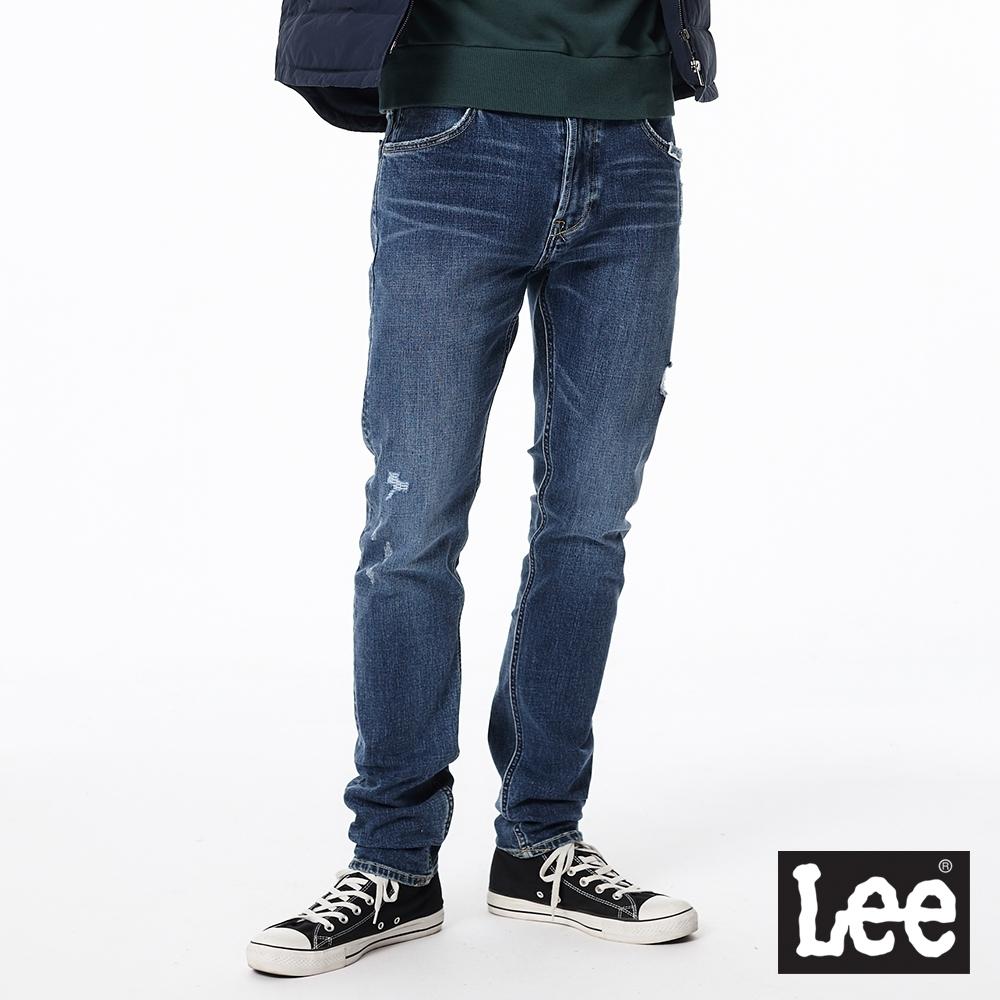 Lee 707 中腰合身小直筒牛仔褲 101+ 男款 中藍