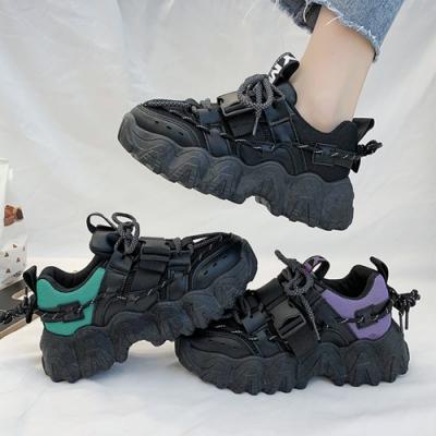 韓國KW美鞋館-小清新街頭時髦老爹鞋(輕量 運動鞋 休閒鞋)(共2色)