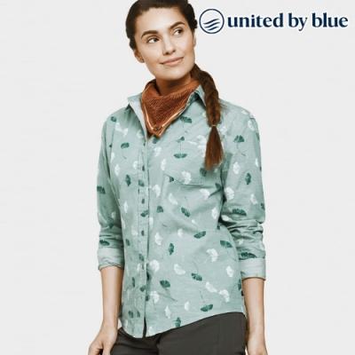 United by Blue 女棉麻長袖襯衫 201-045