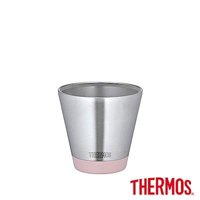 THERMOS 膳魔師 不鏽鋼真空保溫杯(JDD-400-P)(粉紅色)